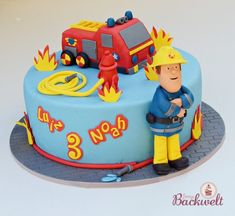 Feuerwehrmann Sam Torte - fireman Sam cake - Jennys Backwelt The Effective Pictures We Offer You About Balloon Decorations engagement A quality picture can tell you many things. Fireman Sam Birthday Cake, Fireman Sam Cake, Fireman Party, 3rd Birthday Cakes, Men Birthday, Birthday Gifts, Happy Birthday, Birthday Cake Decorating, Balloon Decorations