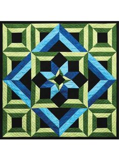 Meditation Quilt Pattern.  Like the pattern but would like different colors
