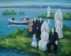 British Artist Karolina LARUSDOTTIR-By The Lake