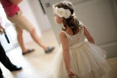 Light taupe flower girl dresses...precious. #flowergirldresses See more http://www.love4weddings.gr/en/rustic-glam-wedding-santorini-wedding-photography-spyros-zaxarakis/