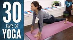 Day 10 - 10 min Sun Salutation Practice -30 Days of Yoga - yummy sun salutation sequence