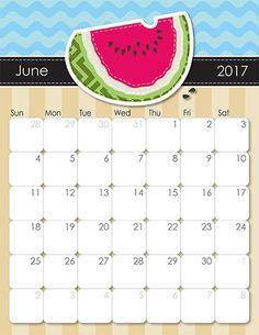 fun printable calendar