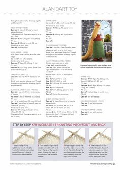 Simply Knitting  №150 October 2016 - 轻描淡写 - 轻描淡写...repun page 2