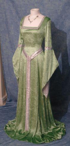 Elfen Kleid Mittelalter Renaissance Fee Kleid LOTR maßgefertigt