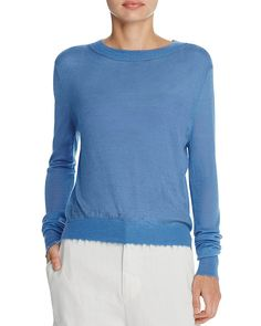 147.00$  Watch now - http://viumg.justgood.pw/vig/item.php?t=f3n2zr20912 - Vince Distressed Trim Cashmere Sweater