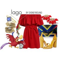 Disney Bound - Iago