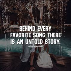 Behind every favorite song there is an untold story. Like and share your thoughts! ➡️ @npmusik for love quotes! #nowplayingmusik #quotes #quote #love #passion #art #feelings #relationship #relationshipgoals #couple #couples #couplegoals #lovequotes #lovequote