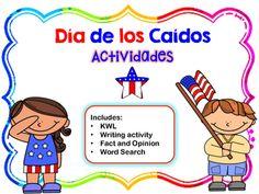 Memorial Day Activities in Spanish!