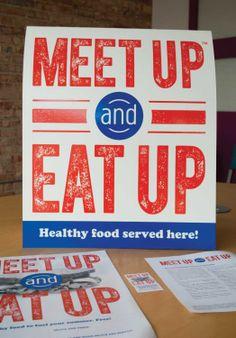 school nutrition, free school breakfast + lunch campaign   Designed by Redhead Design Studio #print #poster #eat