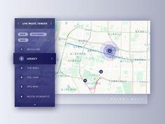 Maps Dashboard