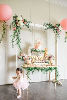 A Darling Dessert Display for a 1st Birthday!         |          The Perfect Palette