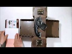 How to Use Spellbinders M-Bossabilities in Sizzix Vagabond by Tim Holtz