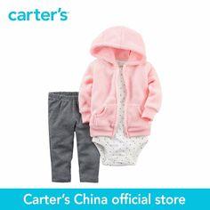 Carter s 3 pcs baby children kids Little Jacket Set 121H508 sold by Carter s China. Click visit to buy #BabyGirlClothingSet #BabyGirl #ClothingSet