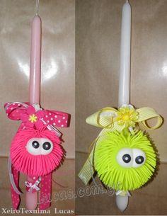 παιδικές πασχαλινές λαμπάδες http://lucas.com.gr/el/our-shop/candles/decorative-candles.html