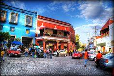 El barrio de San Ángel (Un recorrido por sus calles empedradas)