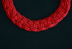 Great Accessory.....Bead necklace. I can do this in any color