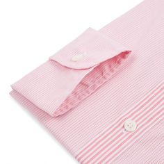 Paul Smith Shirts | Pink Hairline Stripe Shirt