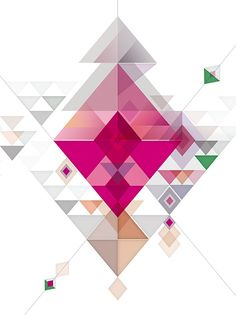 Abstract illustrations on Behance