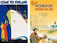 Suomen vanhat matkailujulisteet