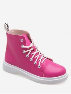 Lace Up Shoes, Cute Shoes, Toe Shape, Cheap Shoes, Short Boots, Low Heels, Fashion Boots, High Top Sneakers