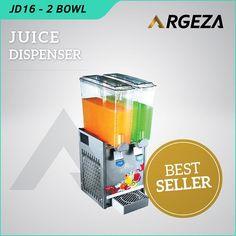 Mesin Juice Dispenser Murah untuk Mesin Usaha  yang menjadi supplier lokal untuk mesin mesin juice dispenser. Telah banyak konsumen yang menggunakan mesin ini dan puas dengan kondisi mesin dan servis yang baik. Penjagaan kualitas baik mesin yang disediakan maupun penyediaan perlengkapan penunjang dilakukan dengan lebih profesional. . . Spesifikasi Mesin: ModelJD 16 Liter Material TangkiPlastik Anti Pecah Power260 Watt Berat20 Kg Size28x40x69 cm Kapasitas8 Liter X 2 Tabung…