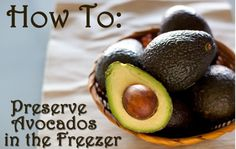 How to Preserve Avocados in the Freezer - Simply Happy Healthy