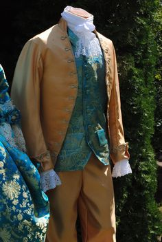 CUSTOM Colonial 18th Century Rococo Mens Frockcoat by MattiOnline, $450.00