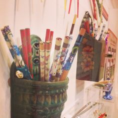 Do you own chopsticks? Are they as colorful as those pictured here?   Many different kinds of chopsticks will be on display in the Grandparents' House in Take Me There:® China, opening May 10.
