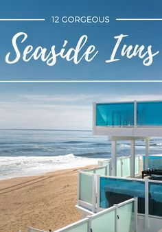 Who doesn't dream of having their own beach house? These seaside inns may not be private, but they're perfect for a waterfront escape this spring. Capitol Reef National Park, National Parks, Moon Hotel, Seaside Inn, Ocean House, Beach House, Narragansett Bay, Fernandina Beach, Shelter Island