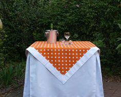 Tailgating tablecloth! LOVE it!