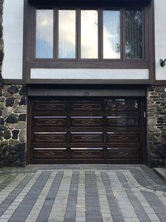 Amazing wooden garage doors