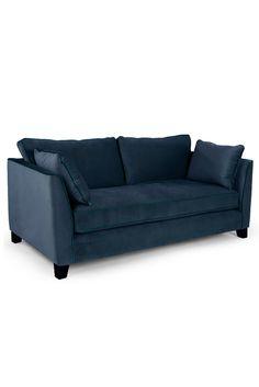Sofa geschwungen  Dylan 3-Sitzer Sofa, Retroorange