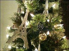 Eiffel Tower Christmas Tree