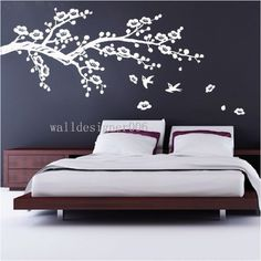 Sakura wall design