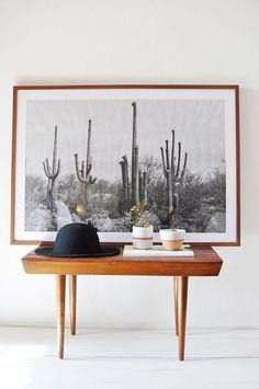 Desert Black & White
