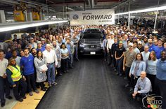 2018 #Volkswagen Atlas production begins in Tennessee | Car News | Auto123