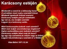 KARÁCSONY ESTÉJÉN Advent, Christmas