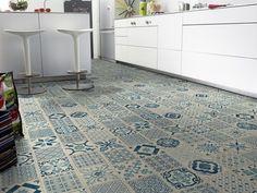 Tarkett vinylbelegg Trend blue Almeria - VINYLBELEGG / VINYLGULV | www.interiorkupp.no