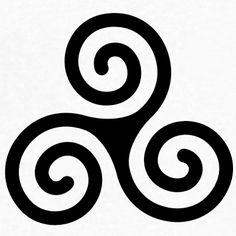 Weitere Informationen Klassiche keltische Triskele Gestalte das Design Keltische Triskele einfach Keltische Triskele