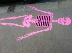 Arte urbano con sentido del humor