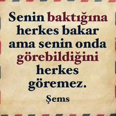 #Şems #sözler