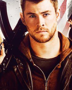 Chris Hemsworth <3 in RED DAWN, Nov. 21, 2012.
