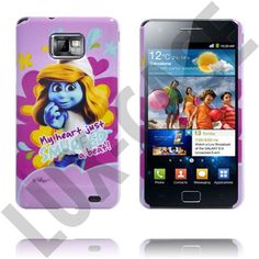 "Smurfan - ""My heart just smurfed a beat"" http://lux-case.se/samsung-galaxy-s2-smurf-case-smurfan.html"