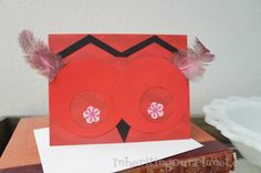 15 Minute Craft: Handmade Owl Valentine Card - Inheriting Our Planet