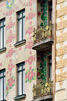 AD Classics: Majolikahaus / Otto Wagner | ArchDaily