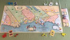 1775 La Guerra de la Independencia de los Estados Unidos. Masqueoca editorial. Juego de guerra, estrategia, 2-4 jugadores. A partir de 10 años.