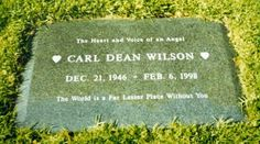 "Carl Dean Wilson. One of the ""Beach Boys"""
