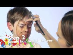 ▶ Werewolf Face Painting Tutorial - YouTube