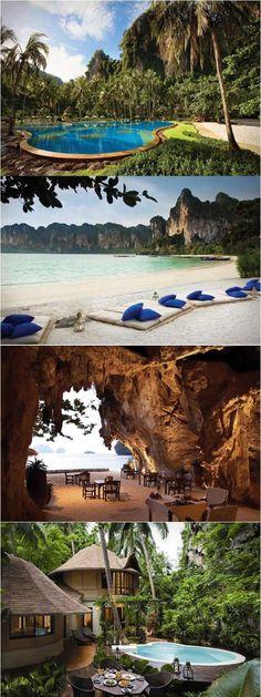Rayavadee Resort, Krabi, Thailand
