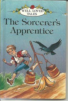 LADYBIRD VINTAGE BOOK - THE SORCERER'S APPRENTICE - WELL LOVED TALES | eBay